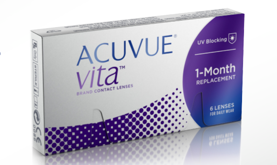 JJVC New ACUVUE – VITA Monthly Contact Lenses