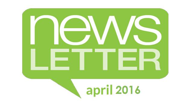 Perspectives Newsletter – April 2016