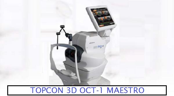 "Topcon: 3-D OCT 1 – Introducing ""Maestro"""