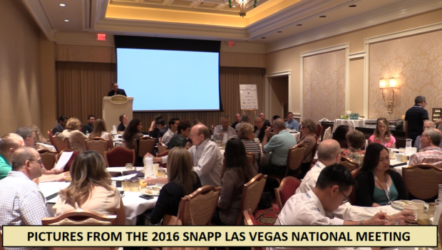 Pictures From the 2016 SNAPP Las Vegas National Meeting