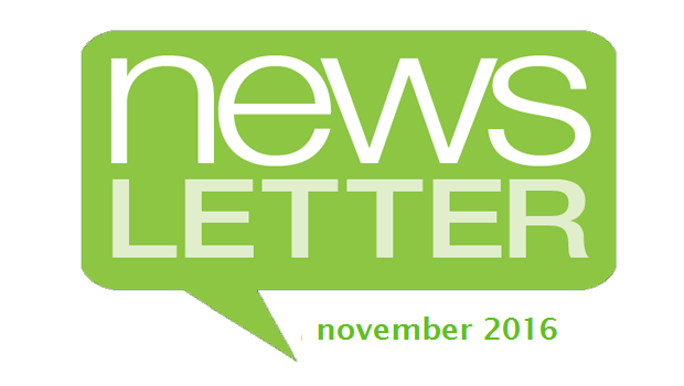 Perspectives Newsletter – November 2016