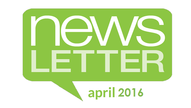 Perspectives Newsletter – April 2016