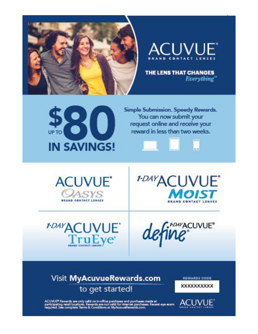myacuvue My ACUVUE Patient Rewards | Snapp Group