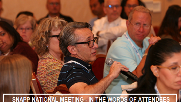In the Words of Attendees – SNAPP National Meetings