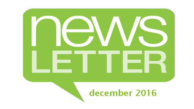 Perspectives Newsletter – December 2016