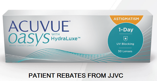 Special Offers: New ACUVUE OASYS 1-day