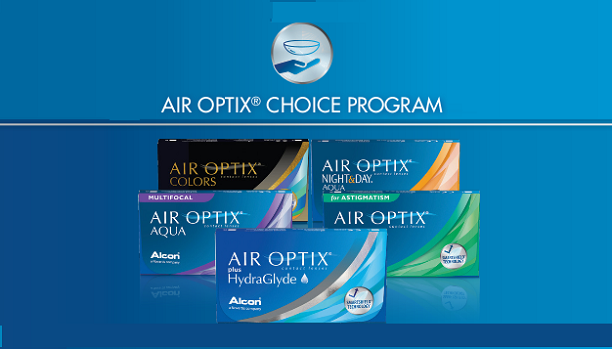 AIR OPTIX CHOICE PROGRAM – Save up to $100