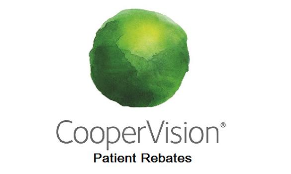 CooperVision Patient Rebates – Avaira, Biofinity, clariti, MyDay