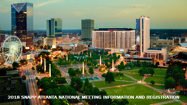 2018 SNAPP Atlanta National Meeting – Information, Schedule, SNAPP, SECO and Hotel Registration