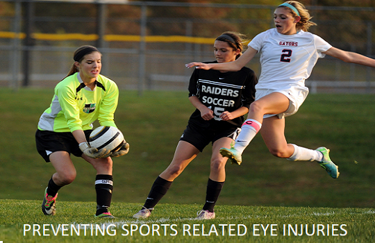 Preventing Sports Related Eye Injuries