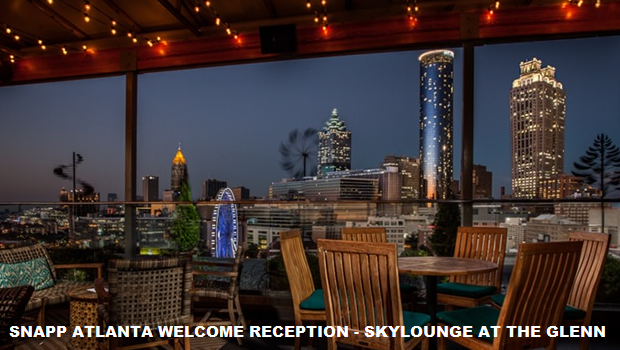 SNAPP Atlanta Welcome Reception – SkyLounge – Glenn Hotel