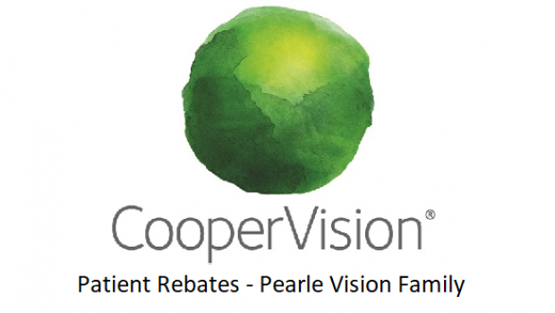 CooperVision Patient Rebates – Pearle Vision Family