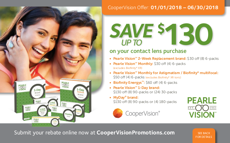Pearle vision coupons 2018