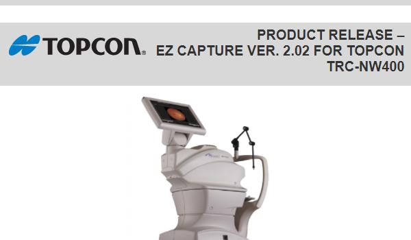 Topcon Releases Ez Capture Ver. 2.02 for Topcon TRC-NW400