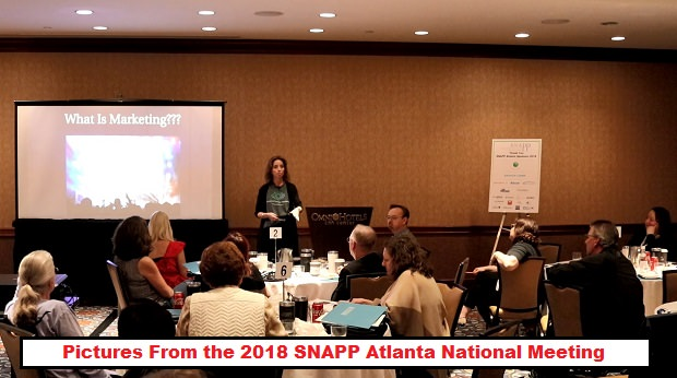 Pictures From the 2018 SNAPP Atlanta National Meeting