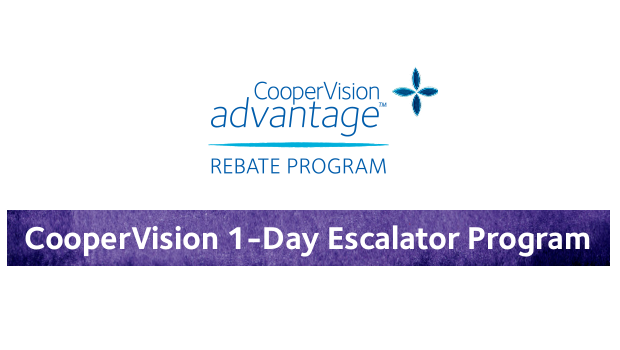 CooperVision 1-Day Escalator Program
