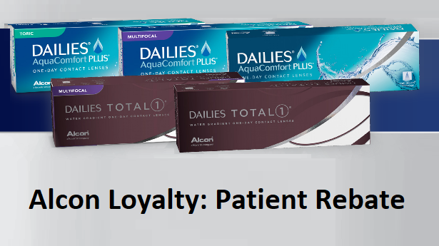Alcon Loyalty – Patients Repurchase Rebate