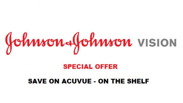 JJV Special Offer – Save on Acuvue – Drive Annual Supplies